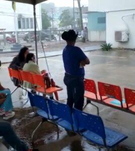 Energisa Rondônia deixa usuários na chuva, em Porto Velho