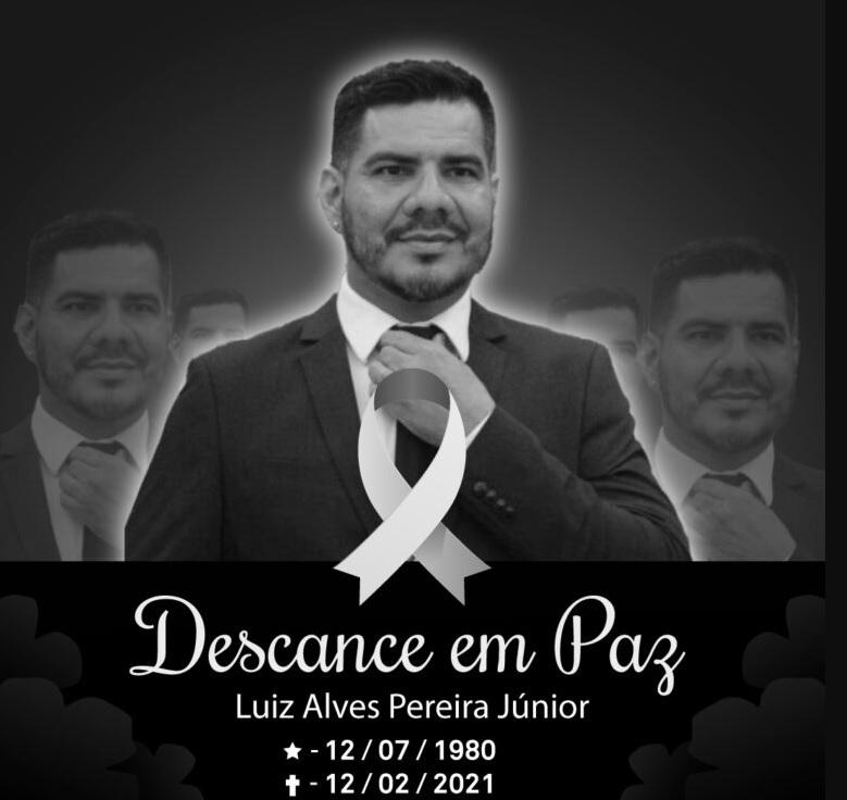 NOTA DE PESAR: Jesuino Boabaid lamenta profundamente a morte do amigo Luiz Júnior